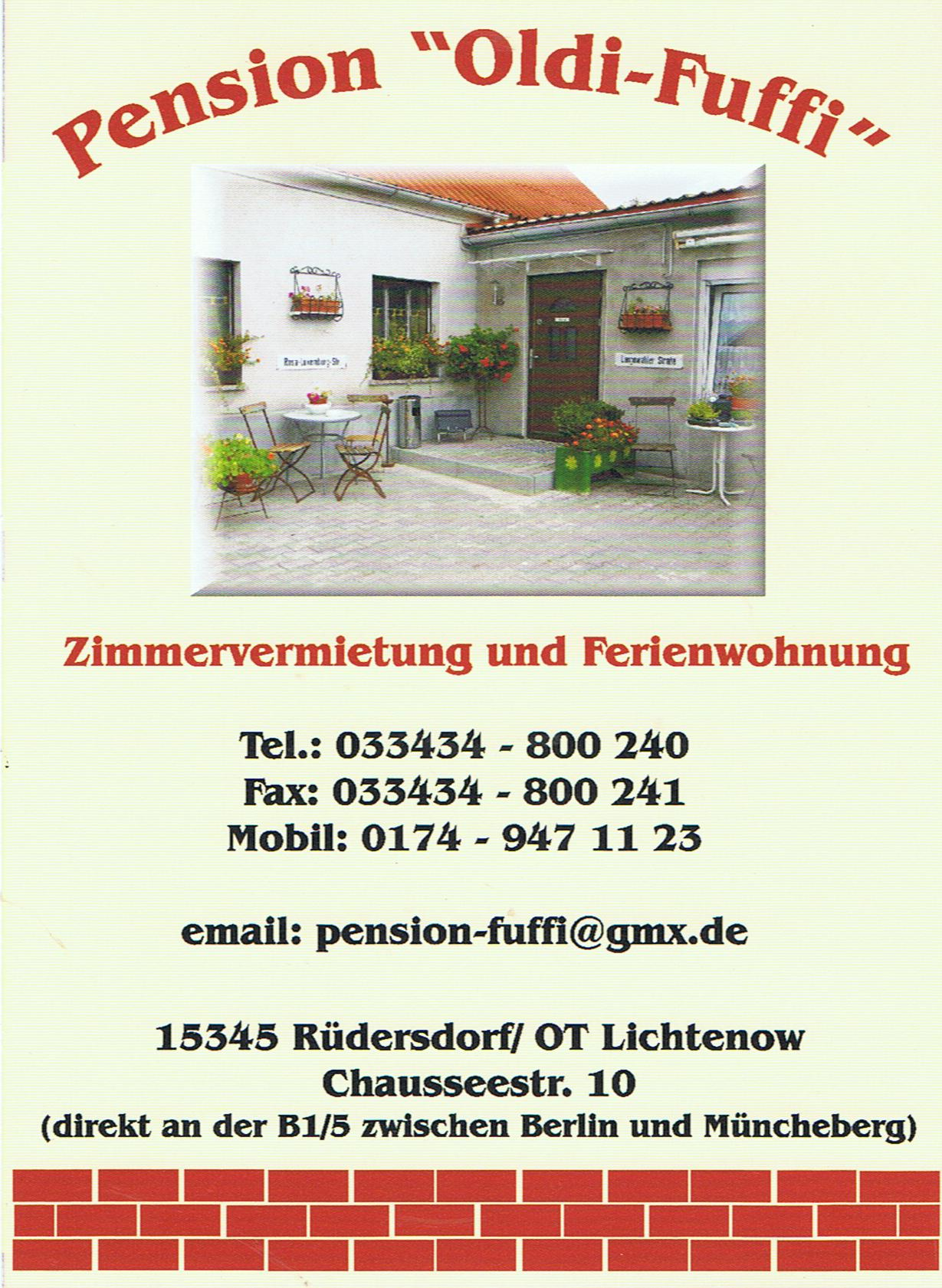Pension-Flyer